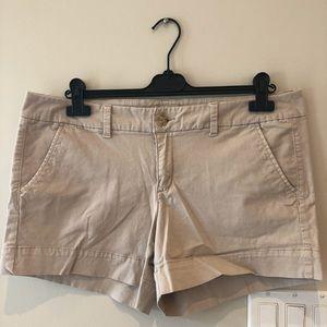 American Eagle Beige Khaki Shorts